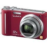 パナソニック デジタルカメラ LUMIX1010万画素 光学12倍ズーム(レッド)DMCTZ7R DMC-TZ7-R