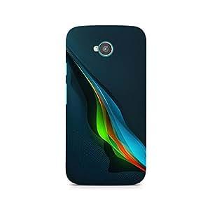 TAZindia Designer Printed Hard Back Case Cover For Moto E2