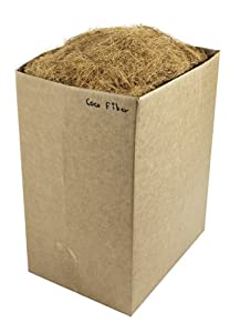 SuperMoss (23275) Coco Fiber for Wire Baskets, Dried, 5lbs