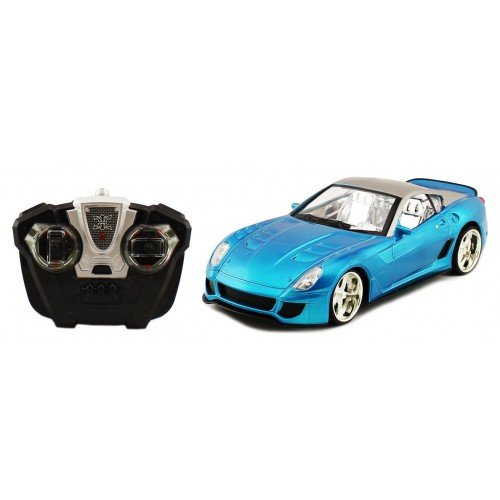 Electric 1:18 Full Function Ferrari GTO 599XX RTR RC Car Remote Control W/ Light up LED Wheels