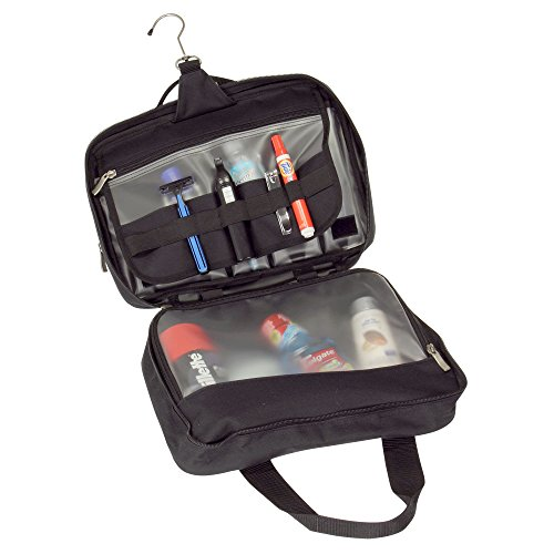 Household Essentials Double Sided Travel Kit Bag Black