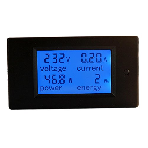bayite AC 80-260V 100A BAYITE-PZEM-061 LCD Display Digital Current Voltage Power Energy Multimeter Ammeter Voltmeter with Current Transformer CT (Ac Voltage Meter compare prices)