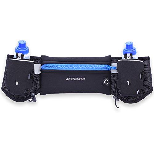 IKuaFly Cintura Marsupio Idratazione con la Bottiglia di Acqua Running Jogging Moto Fitness Antifurto Impermeabile iphone 6 Plus Running Belt