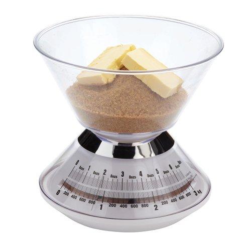 Kitchen Craft Balance de cuisine mécanique avec bol 3 kg