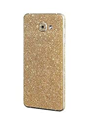 Heartly Sparking Bling Glitter Crystal Diamond Protective Film Whole Body Phone Skin Sticker For Samsung Galaxy A9 (2016) - Mobile Gold
