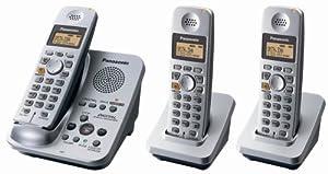 panasonic dect 6.0-series 3-handset cordless phone