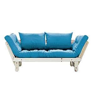 fresh futon beat convertible futon sofa bed natural