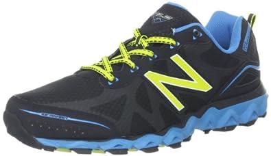 New Balance Men's MT710v2 Trail Running Shoe,Grey/Blue,7 4E US