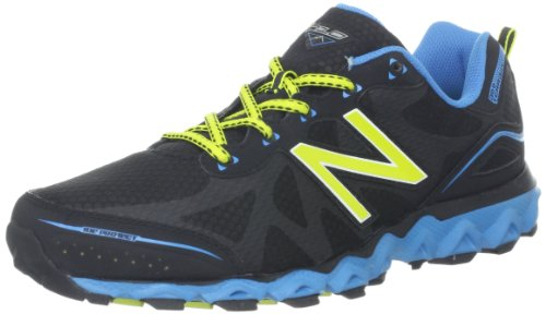 New Balance Men'S Mt710V2 Trail Running Shoe,Grey/Blue,9 D Us