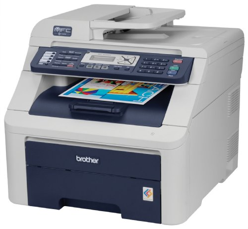 Brother MFC-9120CN High Quality Digital Color All-in-One Printer with Fax and Networking