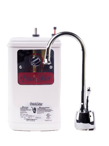 Waste King H711-U-CH Hot Water Dispenser Faucet and Tank Combo Unit (Quick And Hot Tank compare prices)