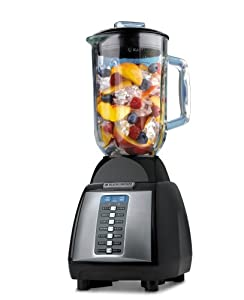 Black & Decker BLP14600TB Intelligent Fuse 14-Speed Blender, Black