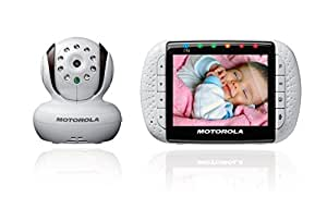 buy motorola mbp36 remote wireless video baby monitor with 3 5 inch color lcd screen infrared. Black Bedroom Furniture Sets. Home Design Ideas
