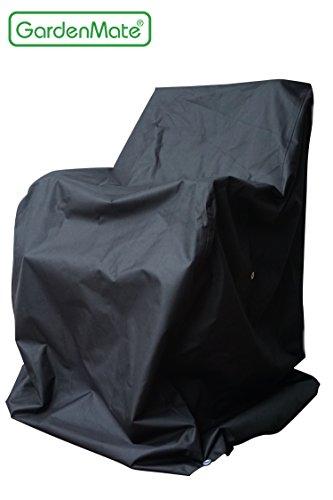 GardenMate-OXFORD-Polyester-Schutzhlle-fr-Gartensthle-65-x-65-x-80120-cm-Premium-Qualitt-aus-hochwertigem-220GSM-Oxford-Polyester-Material-Anthrazit