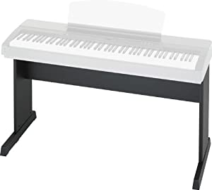 Yamaha L140 Keyboard Stand for P155 and P155B - Black (Discontinued by Manufacturer)