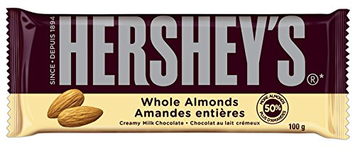 Hershey's Milk Chocolate with Almonds Bar, 14 Count