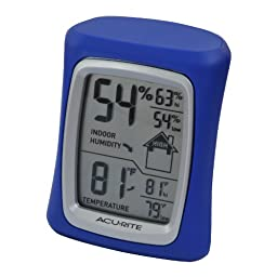 AcuRite 00326 Home Comfort Monitor, Blue