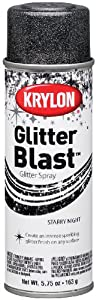 Krylon K03805 Glitter Blast, Starry Night