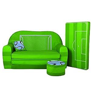 Lit enfant fauteuils canap sofa pouf et coussin terrain - Amazon fauteuil enfant ...