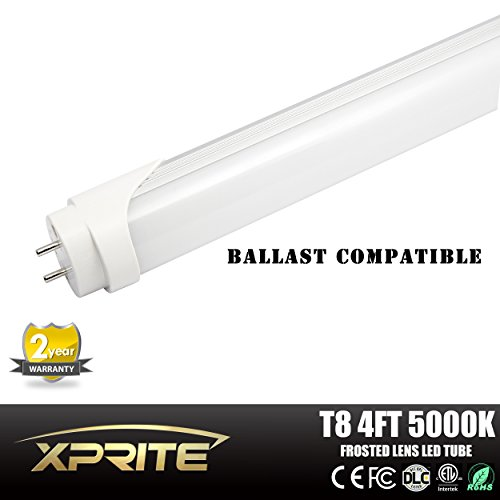 Xprite 1 Pack Of 20W LED Ballast Compatible T8 T10 Tube