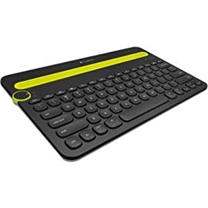 Logitech Bluetooth Multi-Device Keyboard K480 for Computers, Tablets and Smartphones, Black (920-006342)