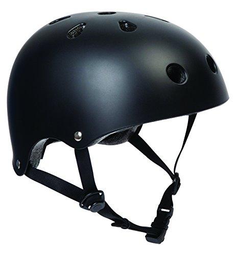 sfr-bmx-skate-scooter-helmet-matt-black-dual-padding-s-m-53cm-56cm