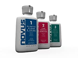 NOVUS 7136 Plastic Polish Kit - 2 oz. by NOVUS