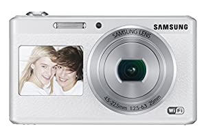 Samsung Electronics EC-DV180FBPWUS Dual-View Wireless Smart Camera (White)