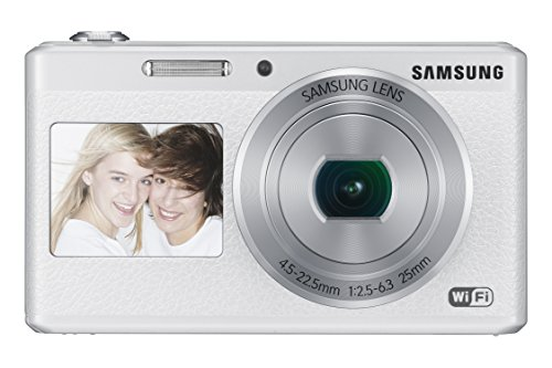 Cheapest Price! Samsung Electronics EC-DV180FBPWUS Dual-View Wireless Smart Camera (White)