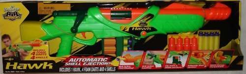 Buzz Bee Toys Hawk Bolt Action Foam Dart Blaster by Buzz Bee