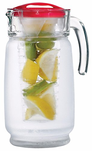Euro Ware 64oz Glass Chiller & Infuser (Glass Fusion Pitcher compare prices)