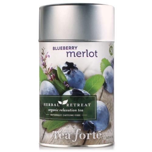 Tea Forte Loose Leaf Tea Canister-Blueberry Merlot
