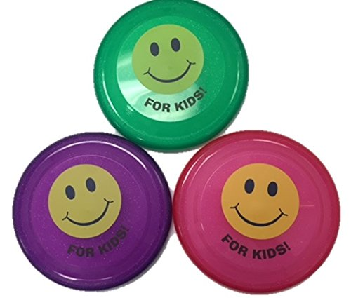 Flying Disc Toy for Kids: Flying Disc (3-pack) Game for Children and Toddlers, Great for Beach and Outdoor Fun - 1