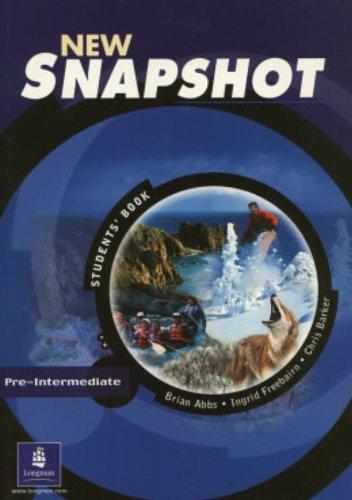 New Snapshot Pre-Intermediate: Students' Book