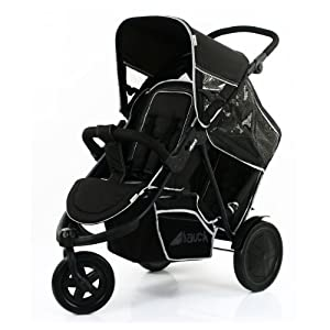 Hauck FreeRider Stroller, Black, 1-Pack