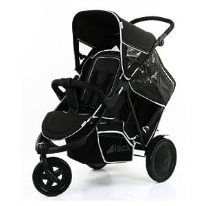 Hauck FreeRider Stroller, Black, 1-Pack