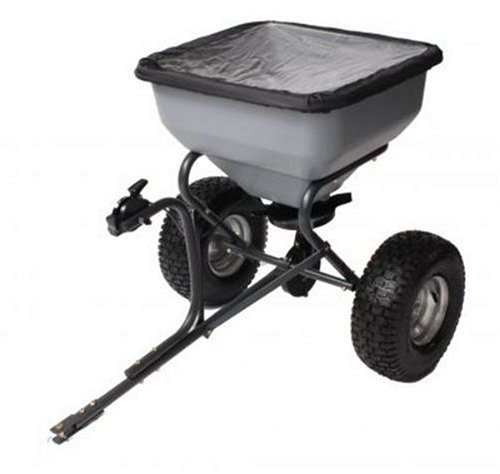 Precision Products TBS6000RDOS 6-Series 130-Pound Tow Behind Broadcast Spreader with