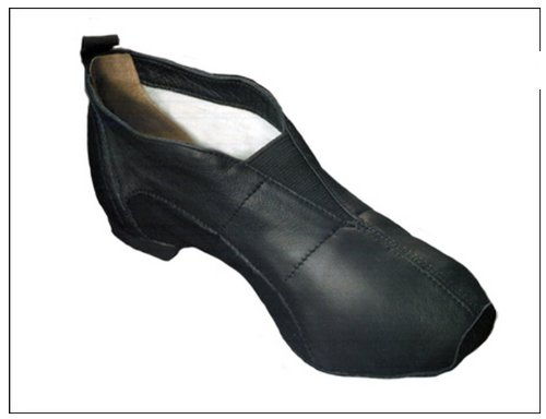 "Capezio Capezio Pp01 Black Size 4 W Ion"" Slip on Jazz Shoe (4 w)"