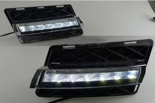 Whitesnowing Running Led Drl Daylight Head 2X Daytime Light Lamp For Mercedes Benz Glk300 350 New
