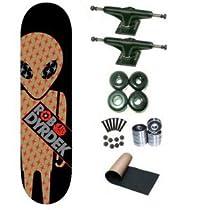 Alien Workshop Dyrdek Gold Foil Soldier 7.75 Skateboard Deck Complete