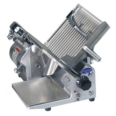 """Globe Food GC512 Chefmate 12"""" Compact Gear Driven Manual Slicer"""