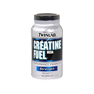 Twinlab - Creatine Fuel Mega Performance Enhancer - 120 Capsules