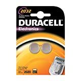 Duracell - 75072668 -2 Piles Spciales Appareils Electroniques - 2032 Grand Blister