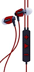 Klipsch Image S4i Rugged In-Ear Headphone with Mic (Red)