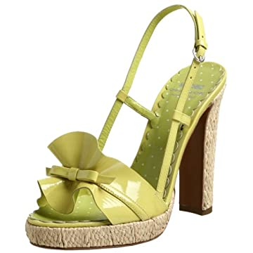 Moschino Cheap And Chic Women's Puff Slingback Sandal