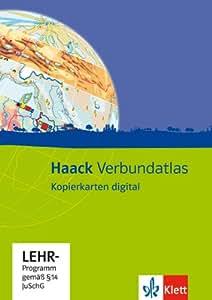 Haack Verbundatlas. Kopierkarten digital: (auf CD-ROM)