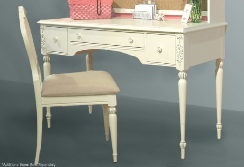 Buy Low Price Comfortable American Woodcrafters Cheri Vanity/Computer Desk with the option to add Mirror (B005COOFLO)