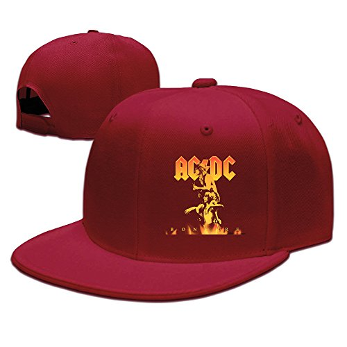 Ac Dc Night Prowler Cap Mens Adjustable Summer Hats Visor Red (Cooler Red Bull compare prices)