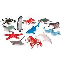 Toy Sea Animals (12 counts)