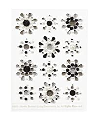Martha Stewart Crafts Mini Gemstone Flower Stickers